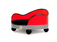 House of Smucci Dog Bed | Red Truck
