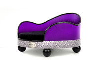 House of Smucci Dog Bed | Purple Truck