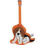 Beagle Luggage Tag