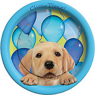 Party Pups Chow Time Party Plates | 8ct
