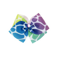 Crackle Dog Hair Bow