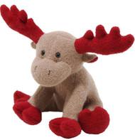 Woolie Christmas Moose Dog Toy