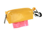 Duffel Dog Waste Bag Holder | Yellow