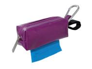 Duffel Dog Waste Bag Holder | Purple
