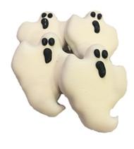 Ghoolish Ghosts Dog Cookies | 4 per order
