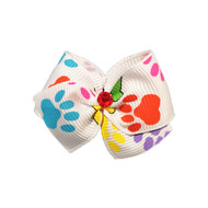 Paws Dog Hair Bow