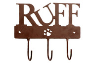 Ruff Triple Leash Hook | Brown
