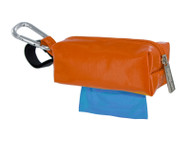 Duffel Dog Waste Bag Holder | Orange