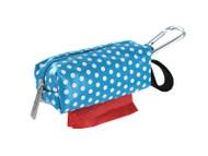 Duffel Dog Waste Bag Holder | Blue Dots
