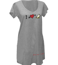 Night Shirt | I Heart Dogs