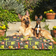 Fireflies Outdoor Dog Duvet