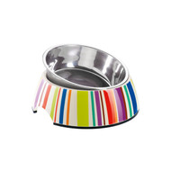 Melamine Feeding Bowl | Stripes