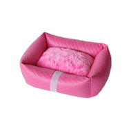 Lounge Bed | Liquid Lux Fuchsia