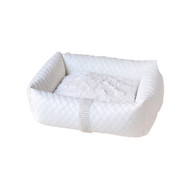 Lounge Bed | Liquid Lux White