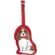 King Charles Luggage Tag