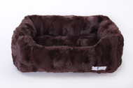 Luxe Luxury Dog Bed | Chocolate