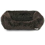 Moscow Luxury Dog Bed | Chocolate