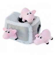 Interactive Plush Burrow Dog Toy | Pig Pen