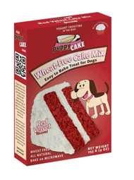 Puppy Cake Red Velvet Cake Mix & Frosting