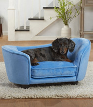 Ultra Plush Snuggle Bed | Blue