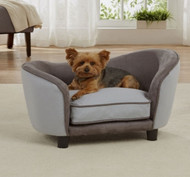 Ultra Plush Snuggle Bed | Grey 2 Tone