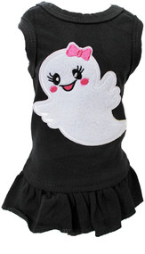 Boo Ghost Dog Tank Dress