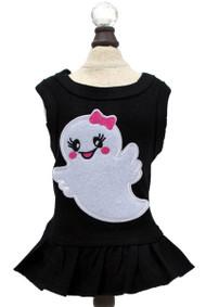 Ms. Boo Ghost Dog Tank Dress | Black