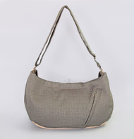 Vienna Luxury Messenger Sling | Sterling
