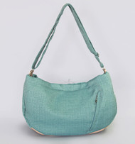 Vienna Luxury Messenger Sling | Teal
