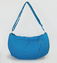 Vienna Luxury Messenger Sling | Caribbean Blue