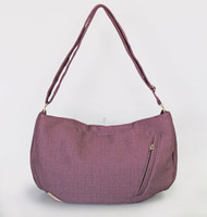 Vienna Luxury Messenger Sling | Plum