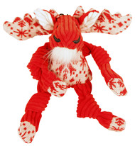 Corduroy Knottie Moose Dog Toy