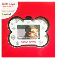 Santa Paws Frame Ornament