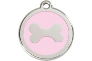 Enamel Bone ID Tag | 10 Colors