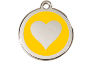 Enamel Heart ID Tag | 10 Colors