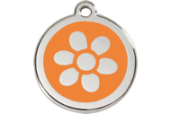 Enamel Flower ID Tag | 10 Colors