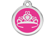 Enamel Crown ID Tag | 10 Colors