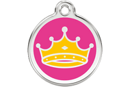 Enamel Dog ID Tag | Queen