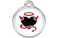 Enamel Dog ID Tag | Devil