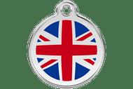 Enamel Dog ID Tag | UK Flag