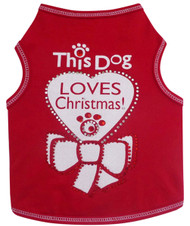 Tank Top | This Dog Loves Christmas