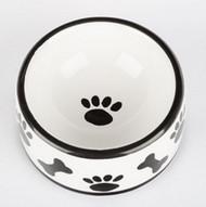 Paws & Bones Dog Bowl
