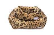 Lux Dog Bed | King Leopard