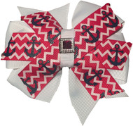 Pinwheel Collar Bud | Anchors Away