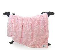 Bella Blanket   Baby Pink