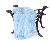Shag Blanket | Blue