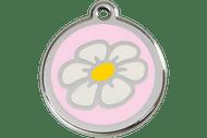 Enamel Daisy ID Tag | 10 Colors