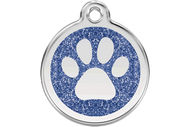 Glitter Paw ID Tag | 7 Colors