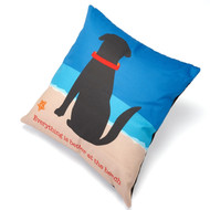 Better at the Beach Pillow