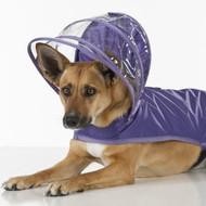 Hooded Rain Coat | Purple